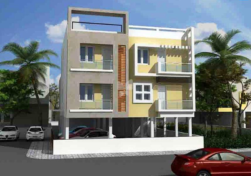 CC Anupama Apartments - Elevation Photo