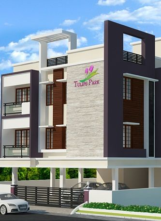 elevation jkb housing tulips park in madanandapuram - Jkb Homes Floor Plans