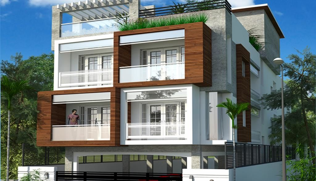Veecons Estates Abhiramapuram - Elevation Photo