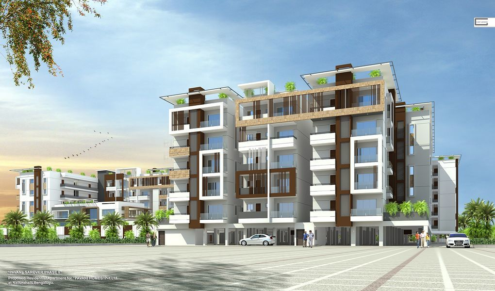Pavani Sarovar Phase 2 - Elevation Photo