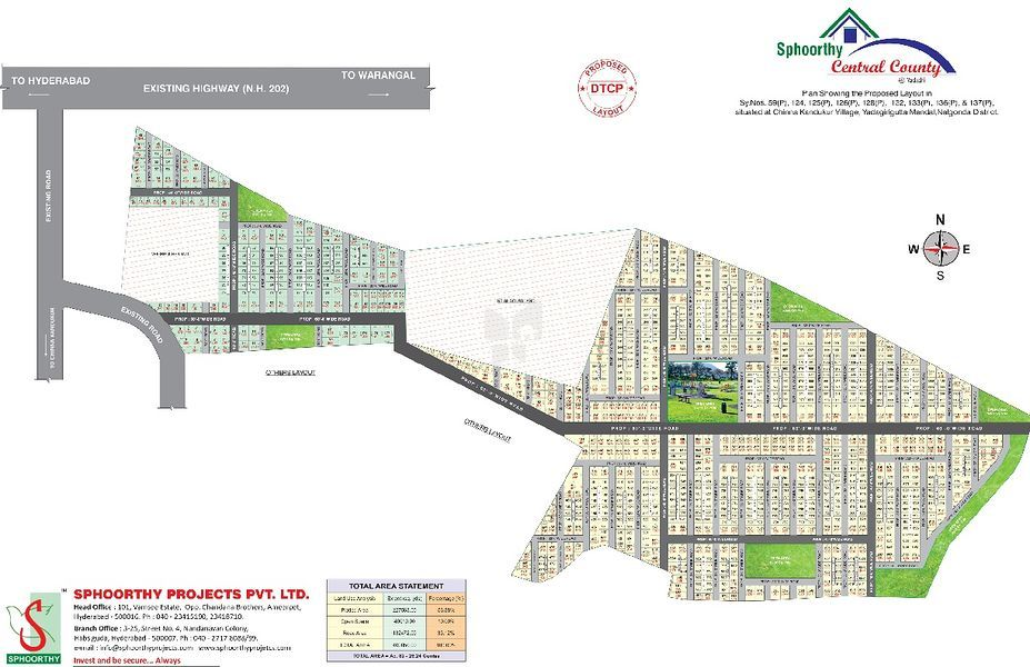 Sphoorthy Central County - Master Plan