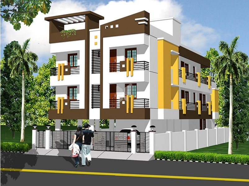 Miracle Madambakkam Flat - Elevation Photo