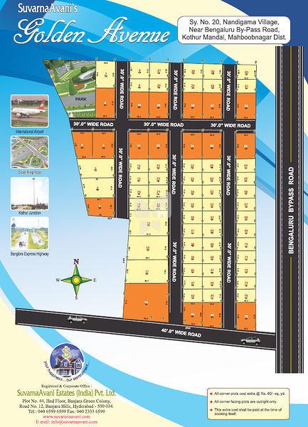 SuvarnaAvani Golden Avenue Phase 1 2 And 3 - Master Plans