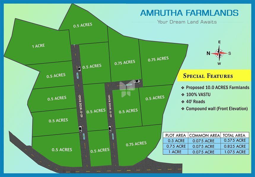 Amrutha Farmlands - Master Plans