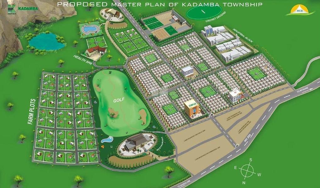 MCB Aassetz Kadamba Township - Master Plans
