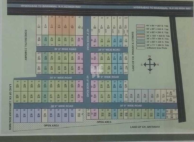 SSREC Sri Sai City - Master Plan