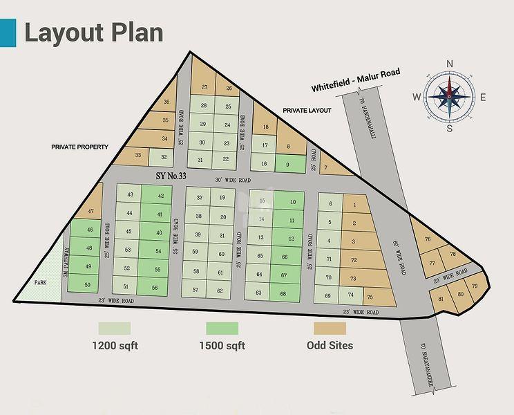 Gurukrupa Residency - Master Plans