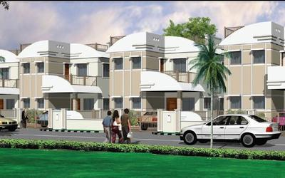 harmony-homes-in-shamirpet-elevation-photo-car