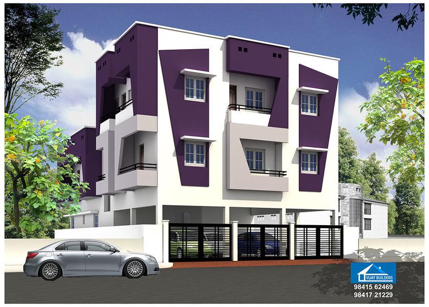 Vijay Builders Thoraipakkam - Elevation Photo