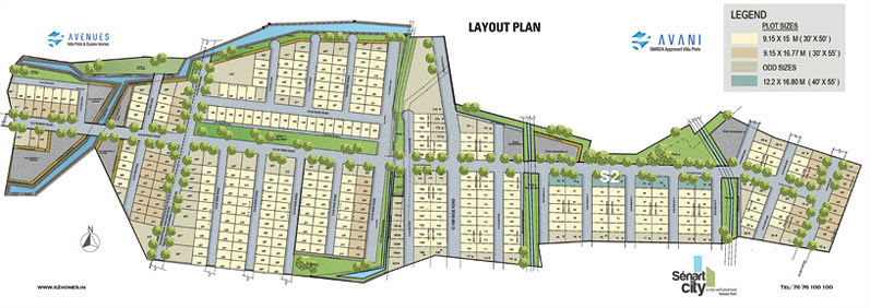 Avani Senart City - Master Plan
