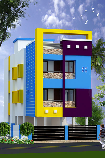 Floor Front Elevation Near Me : Maha sivagami in pallavaram chennai roofandfloor