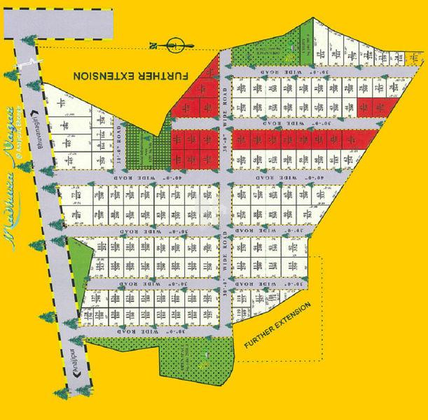 Aduri Madhura Nagar - Master Plans