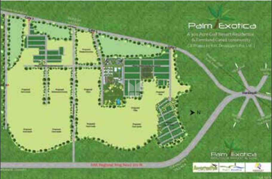 Palm Exotica Greenlands Phase 1 - Master Plan