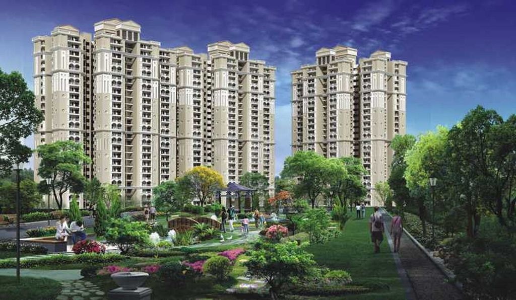Purvanchal Royal City - Elevation Photo