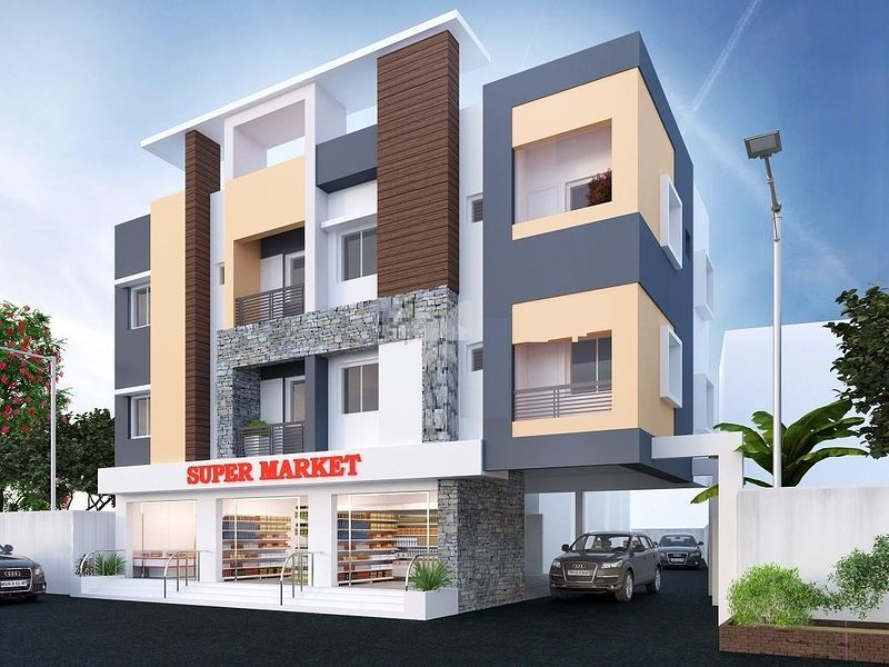 ARJ Flats - Elevation Photo