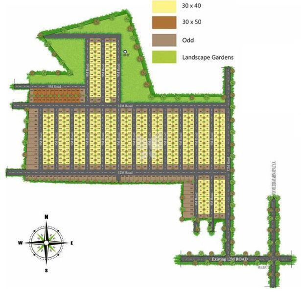 Shree Durga Palm Grove - Master Plans
