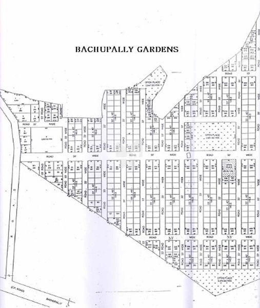 VVR Bachupally Paradise - Master Plan