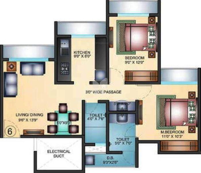 Arihant Aarohi In Shilphata Thane Price Floor Plans