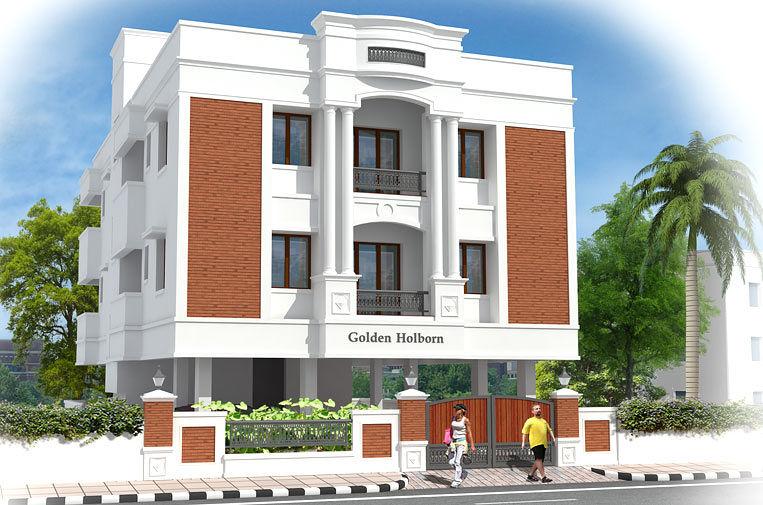 Golden holborn in mogappair chennai roofandfloor for 3 bedroom apartments in chennai