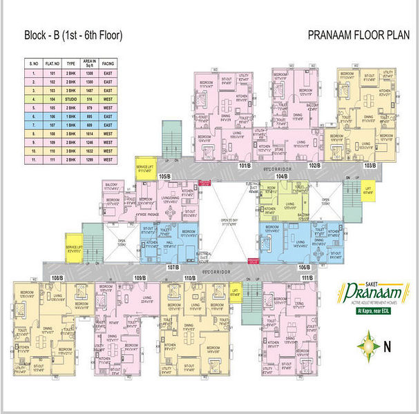 Saket Pranaam In Sainikpuri Hyderabad Price Floor