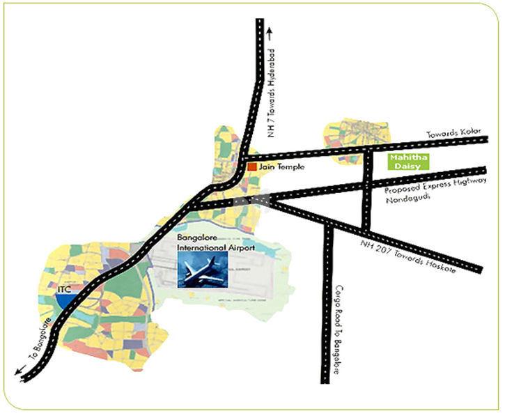 Mahitha Daisy - Location Map