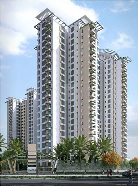 Kolte Patil iTowers Exente - Elevation Photo