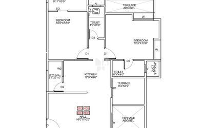 pragathi-royal-serene-in-balewadi-floor-plan-2d-1bty