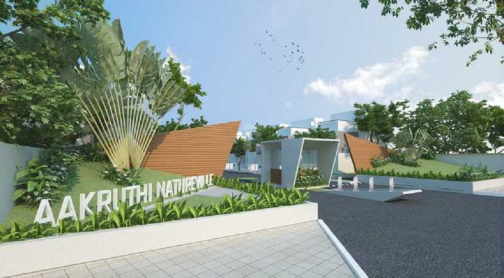 Aakruthi Natureville - Elevation Photo