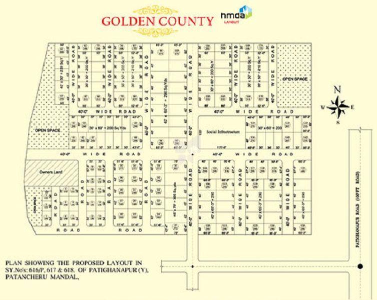 Bhashyam Golden County - Master Plans