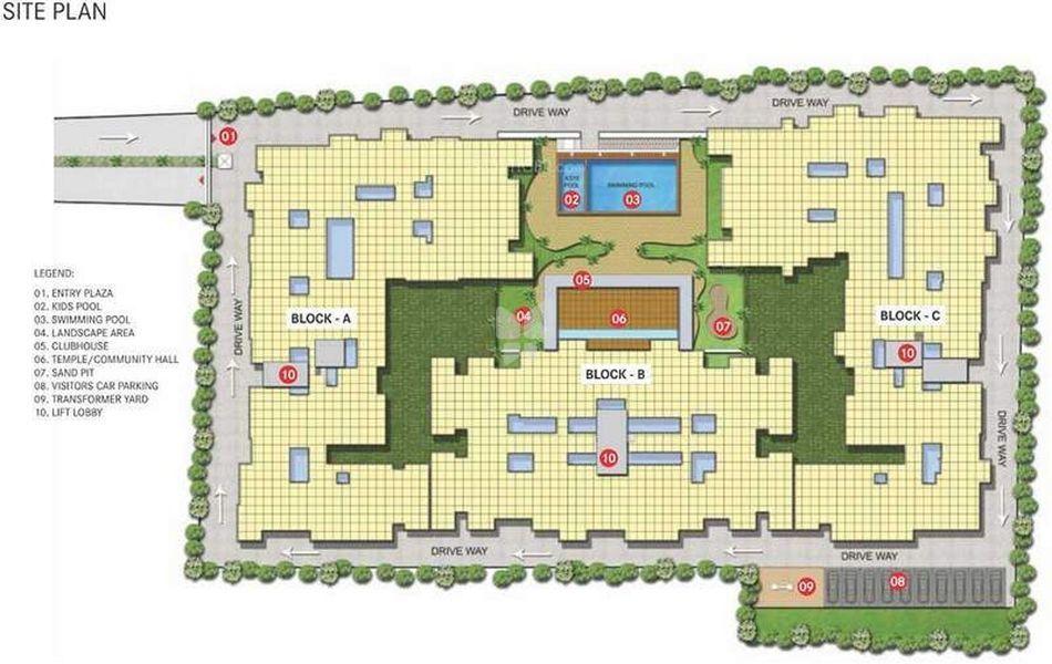 Vaishnavi Meadows - Master Plans