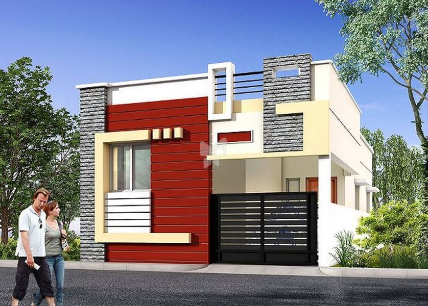 Bharathi MG Nagar Part 9 - Elevation Photo