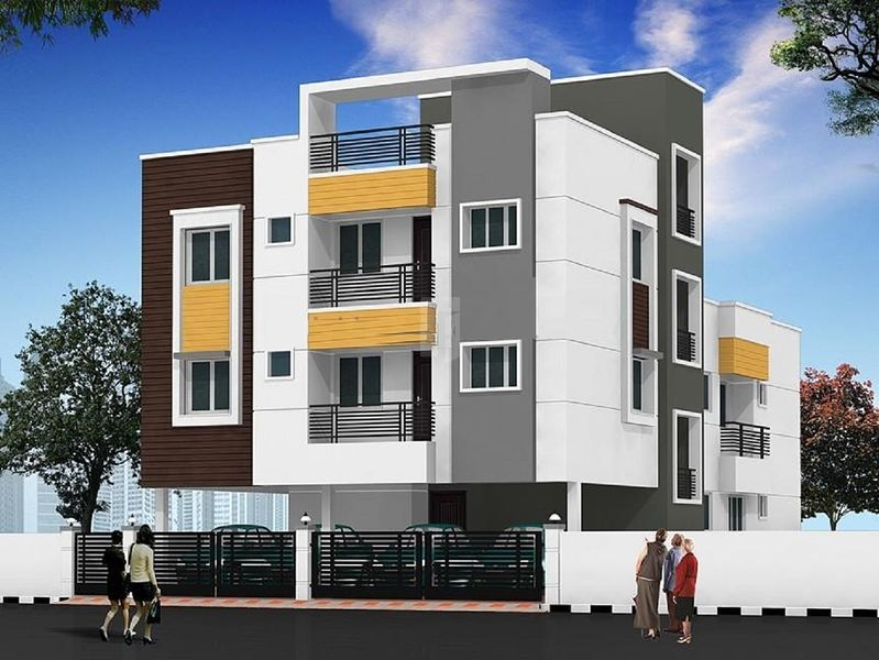 Tirupatiyar Kovur Apartment - Elevation Photo