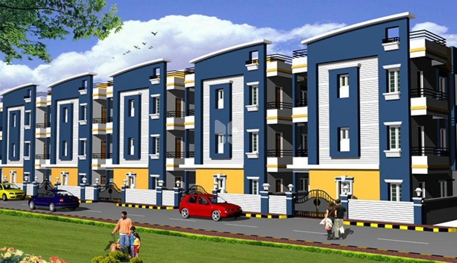 STBL Vyjayanthi Gardens Villas - Elevation Photo
