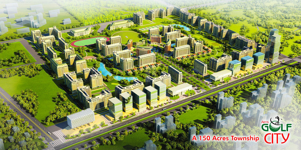 Aims Max Gardenia Golf City - Project Images