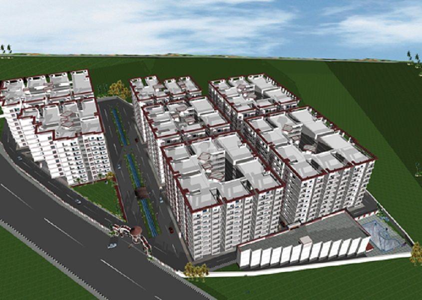 Raji Vedant Unique Residency - Elevation Photo