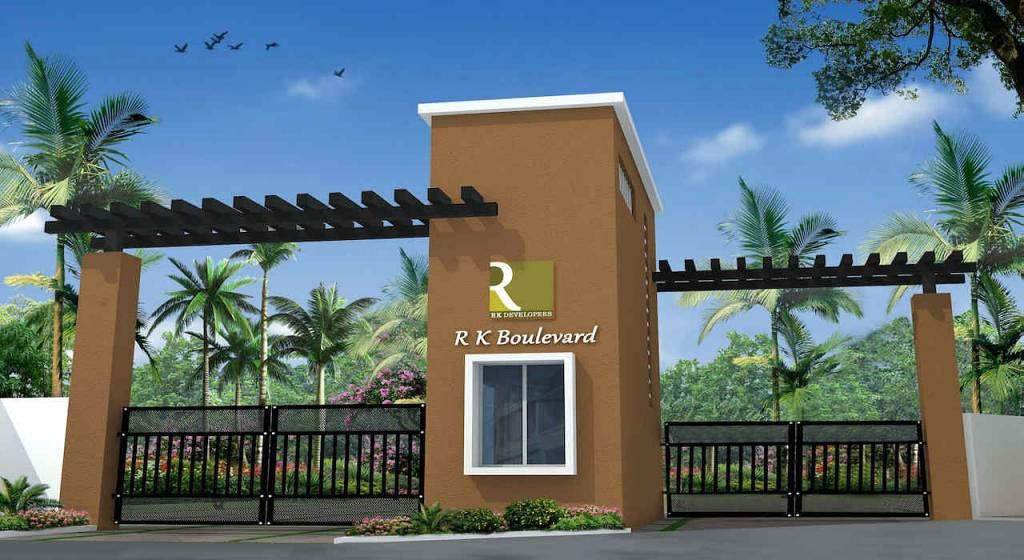 R.K.Boulvevard Villa - Elevation Photo