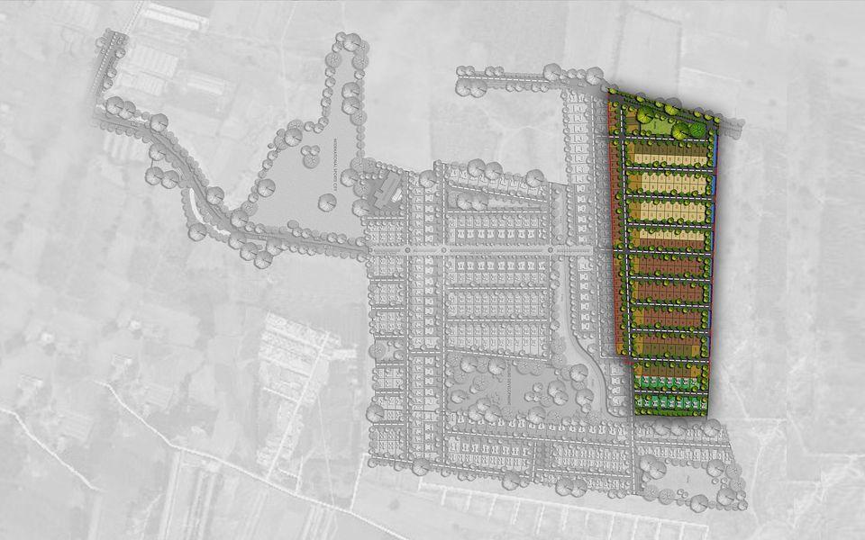 Excel Dwellings Oxigen - Villa Plots Phase 2 - Master Plans