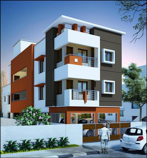 Sharon residency in medavakkam chennai price floor for Chennai home designs and plans