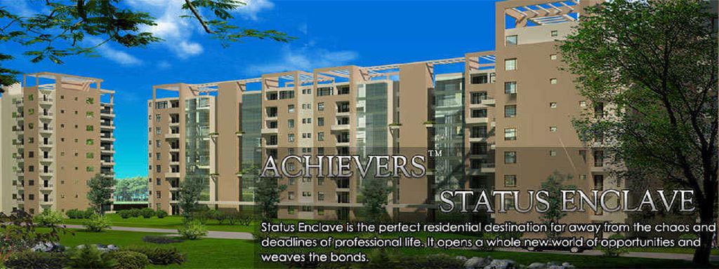 Achievers Status Enclave - Project Images