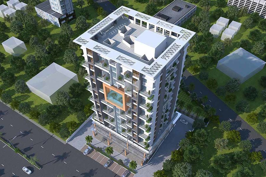 Opulent Landmarks Sheetal Square - Elevation Photo