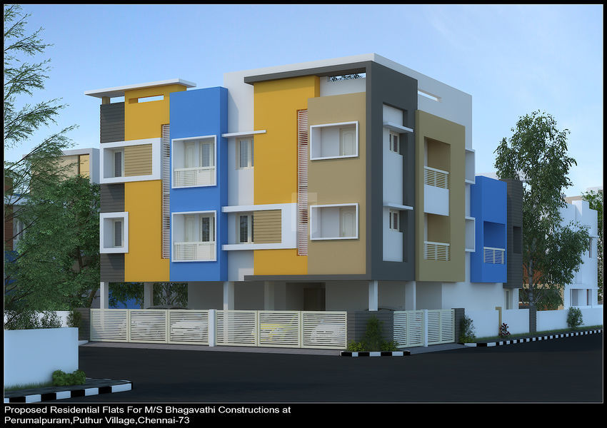 Bhagavathy Parvathi Enclave - Elevation Photo