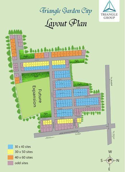 Triangle Garden city - Master Plan