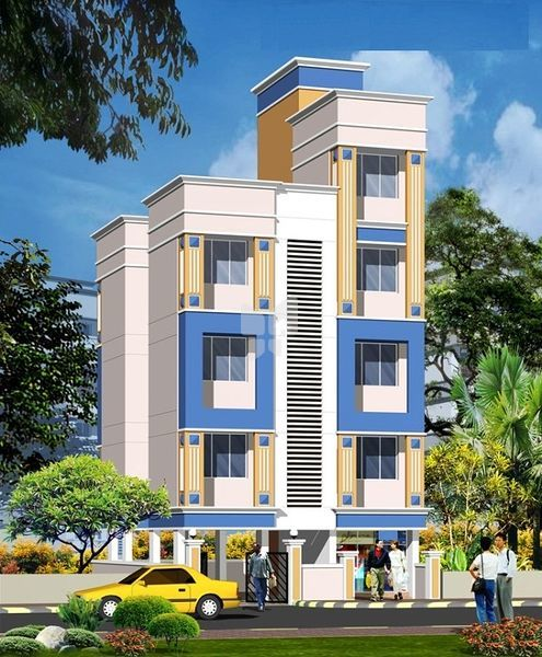 Shree Navneet Apartment - Elevation Photo