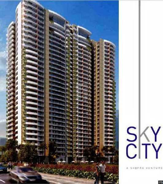 Shipra Sky City - Elevation Photo