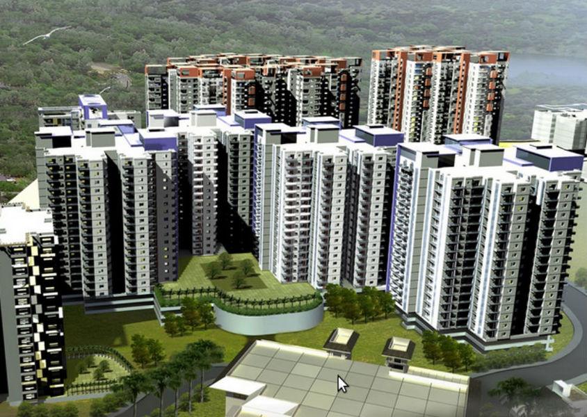 Shriram Panoram Hills - Elevation Photo