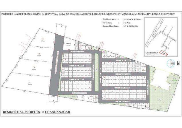 Mahidhara Project @Chandanagar - Master Plans