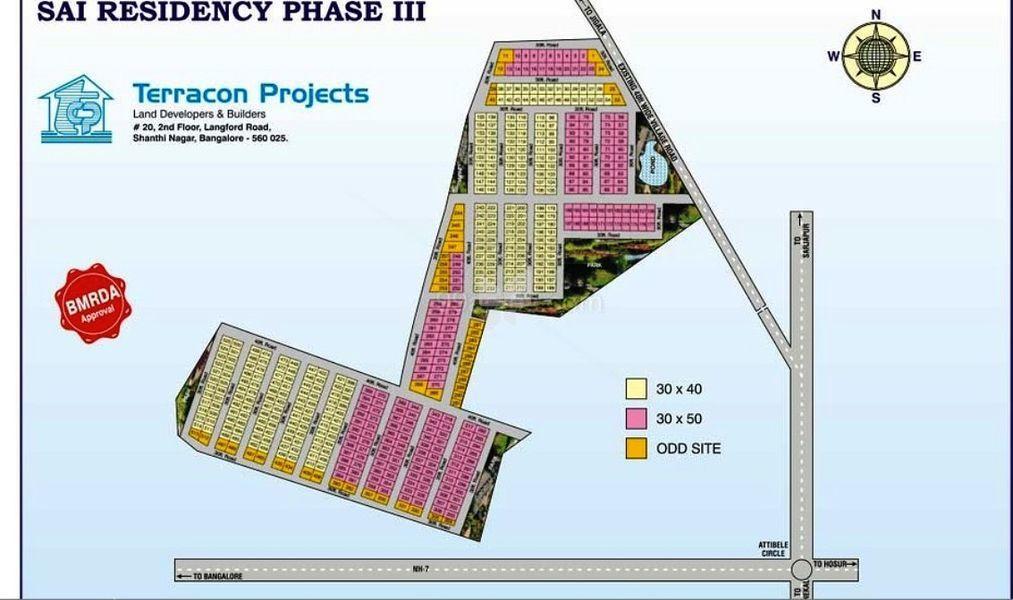 Terracon Sai Residency Phase III - Master Plans