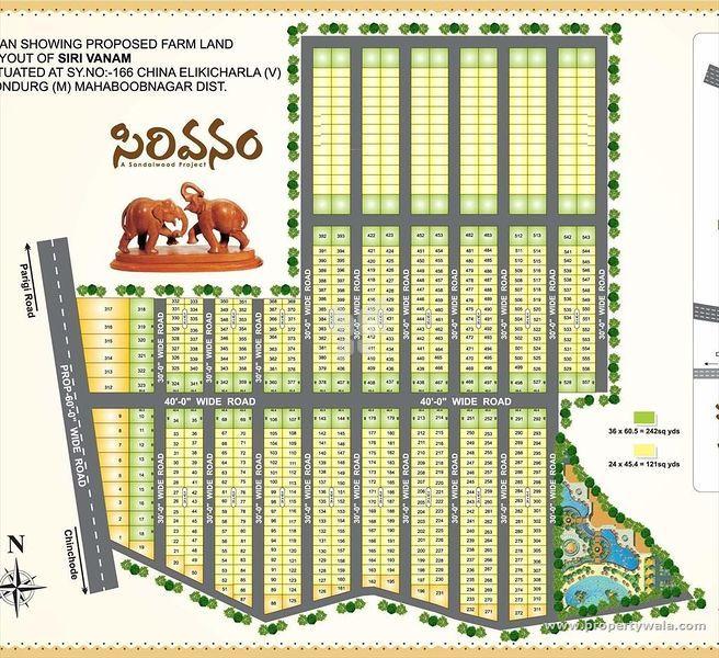 Vision Sirivanam - Master Plans