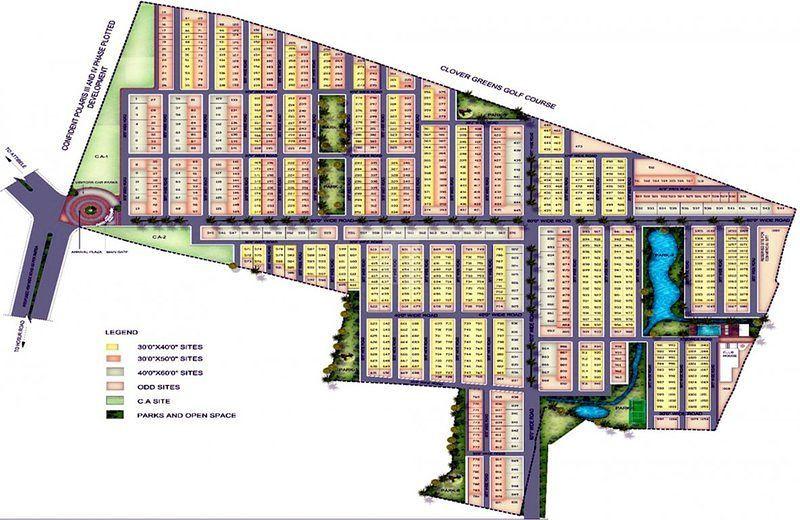 ND Gazania - Master Plan