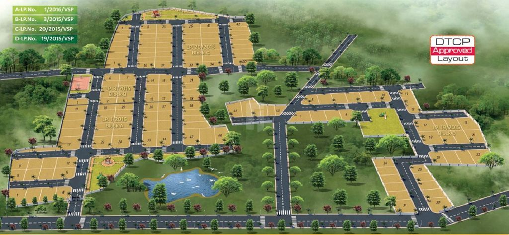 Subhagruha Coastal Park - Master Plans